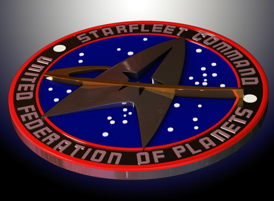 3d star trek logo by mackingster on deviantart for 3d star net