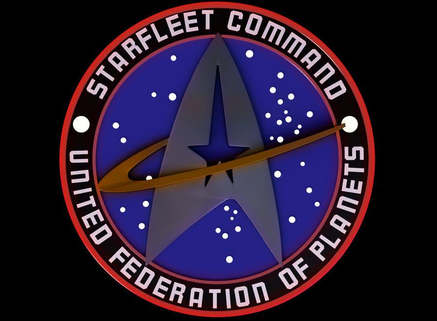 3D Star Trek Logo - Top by Mackingster