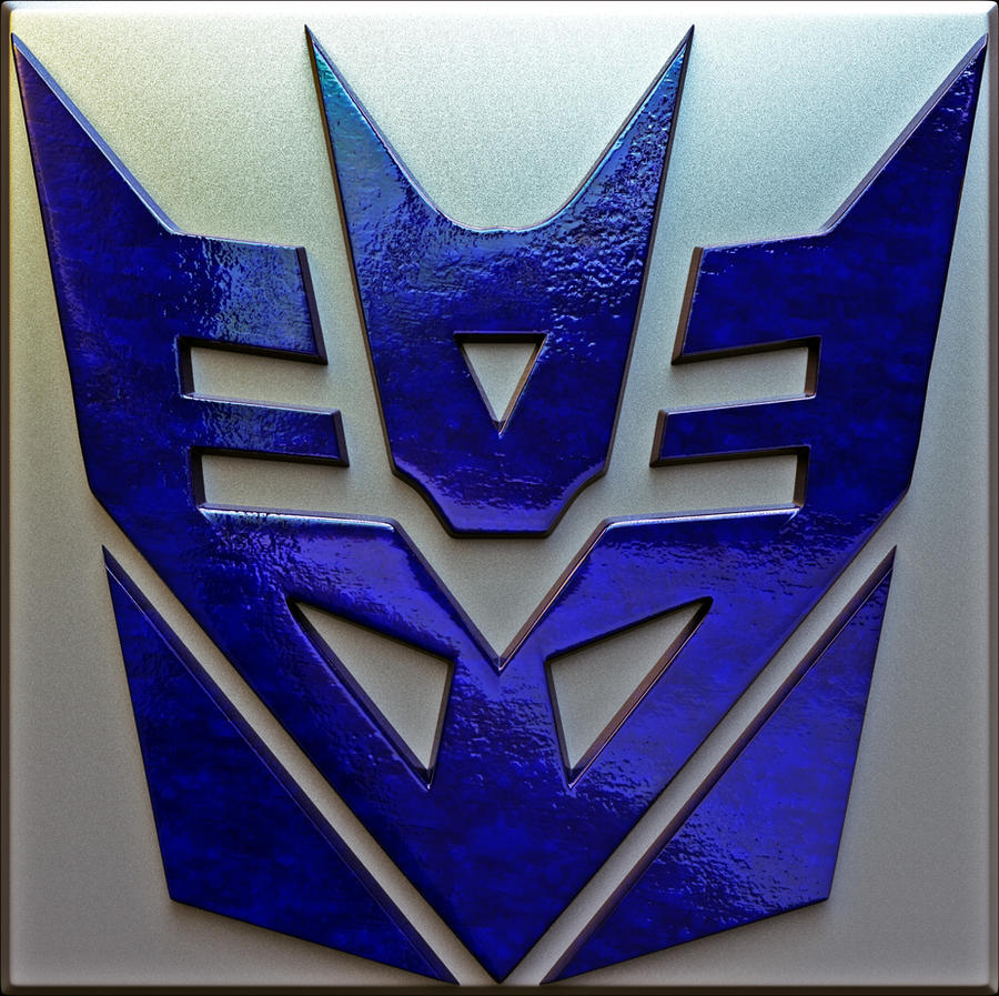 Decepticon 3D Logo by Mackingster