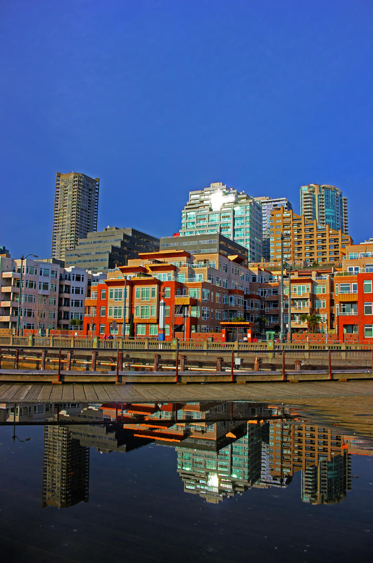 Seattle reflected2 by Mackingster