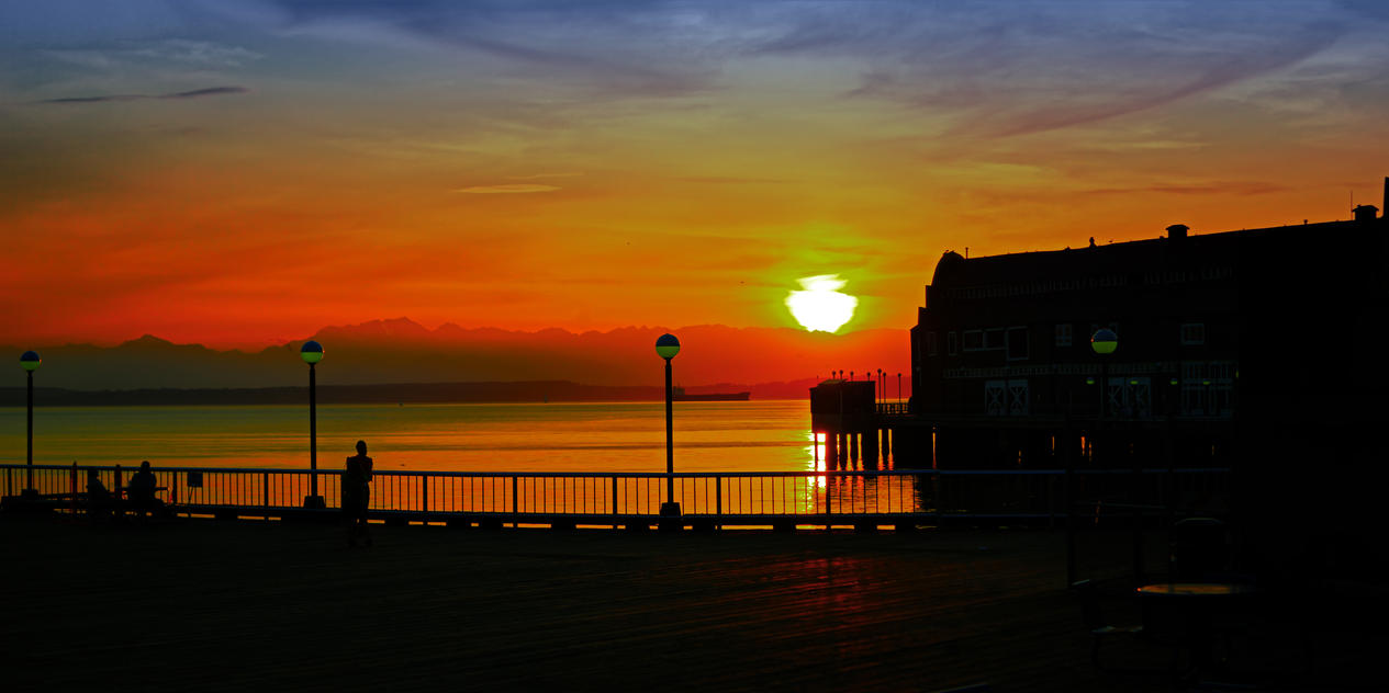 Fireball in Seattle3 by Mackingster