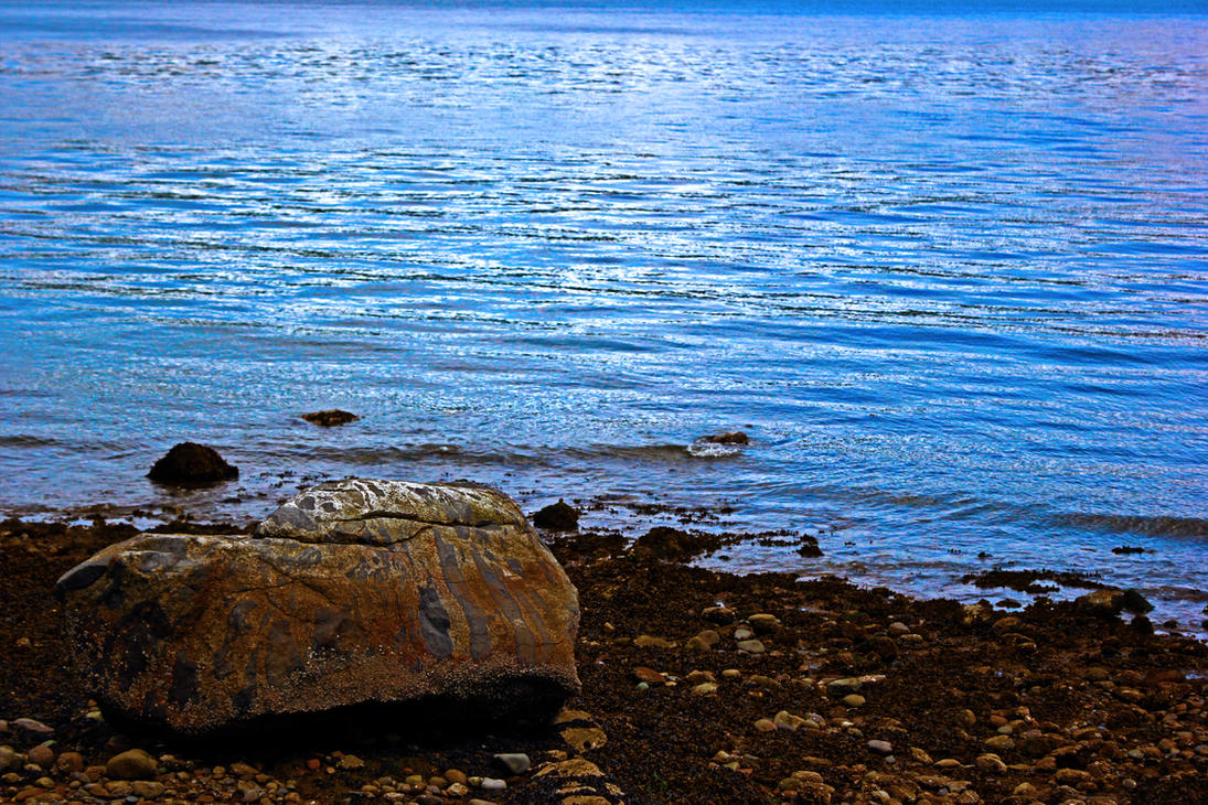 rocky water 3 by Mackingster