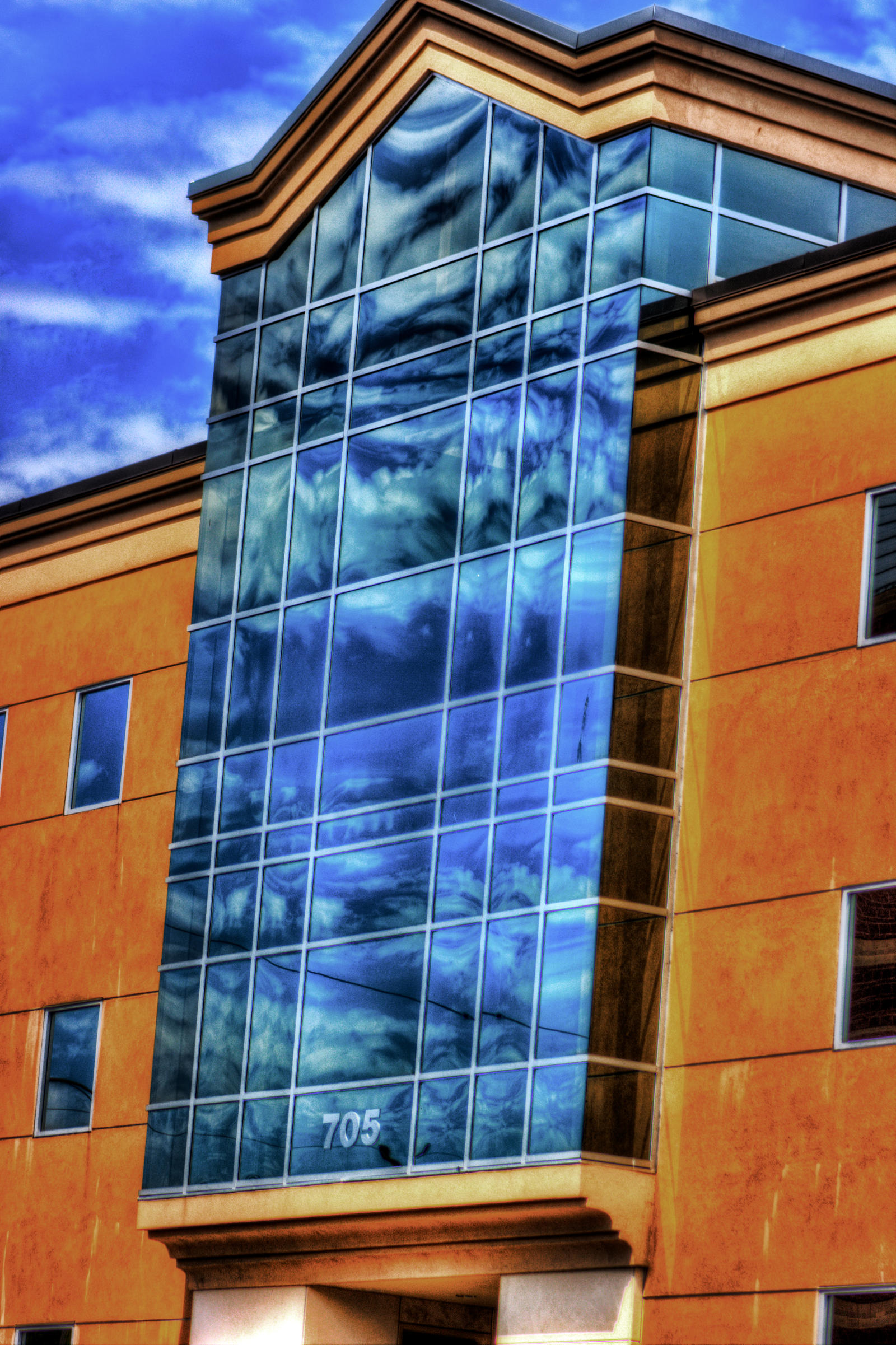 clouded building 2 by Mackingster