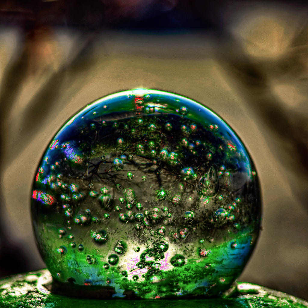 Glass orb HDR2 by Mackingster