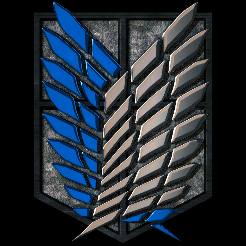 Attack On Titan Logo 3d by Mackingster on DeviantArt