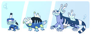 AUCTION! Water Starters [ENDED] by MyMarshlands