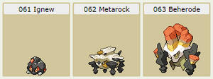 Rock Pokemon