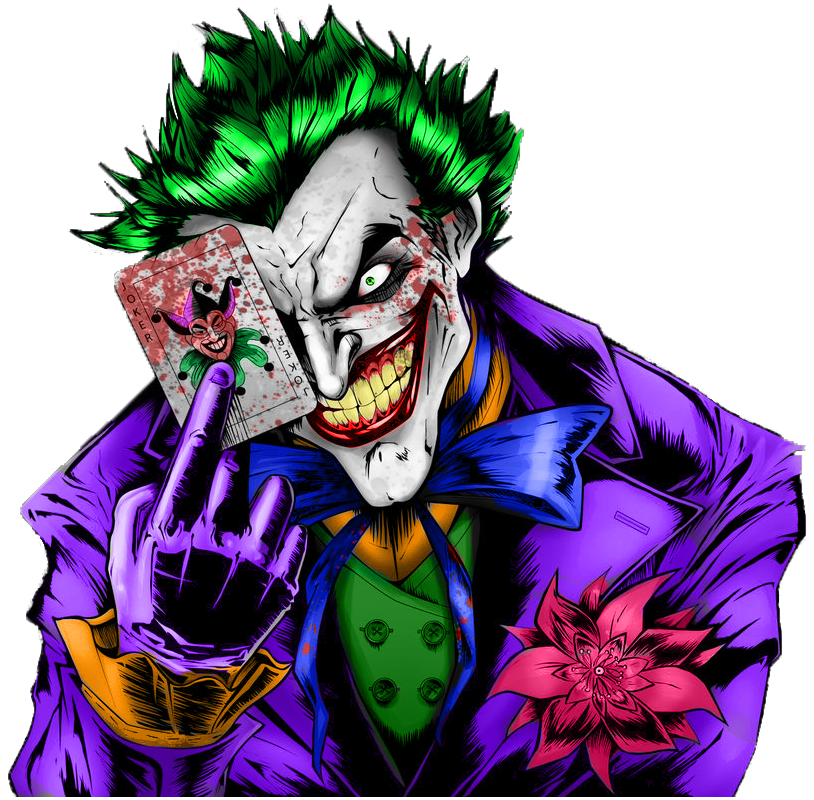 Joker Full Colored with PS by ZeroDs111 on DeviantArt
