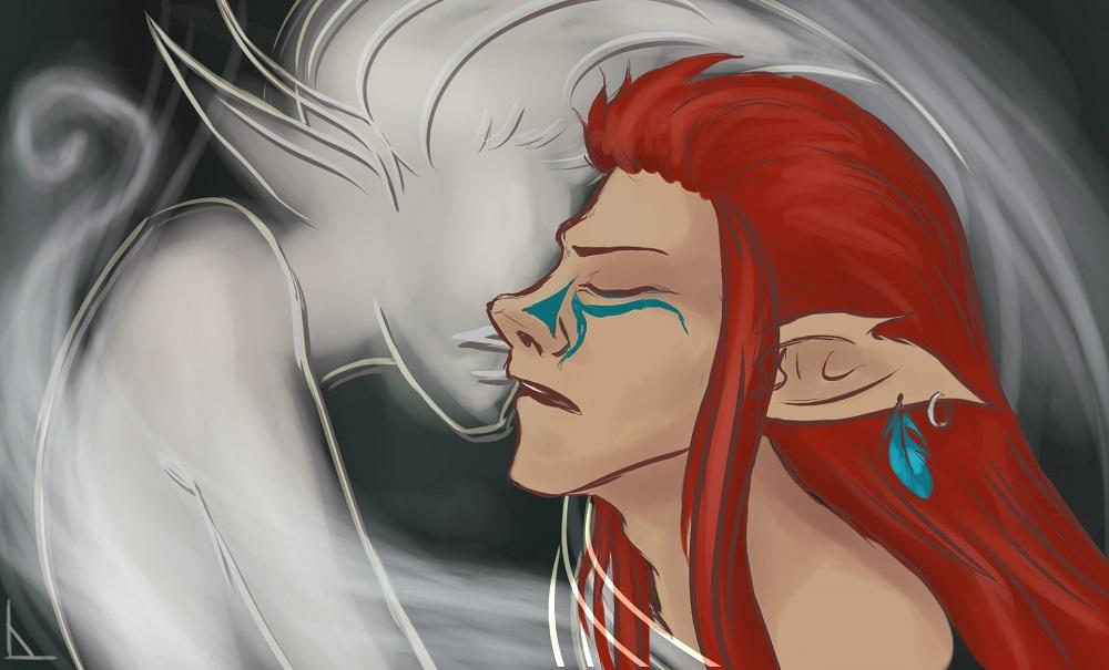 Ghost in my arms by garnet-lynx