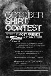 October Shirt Contest.