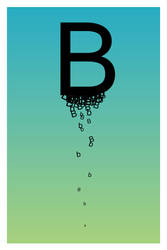 The Letter B. by paperairplane