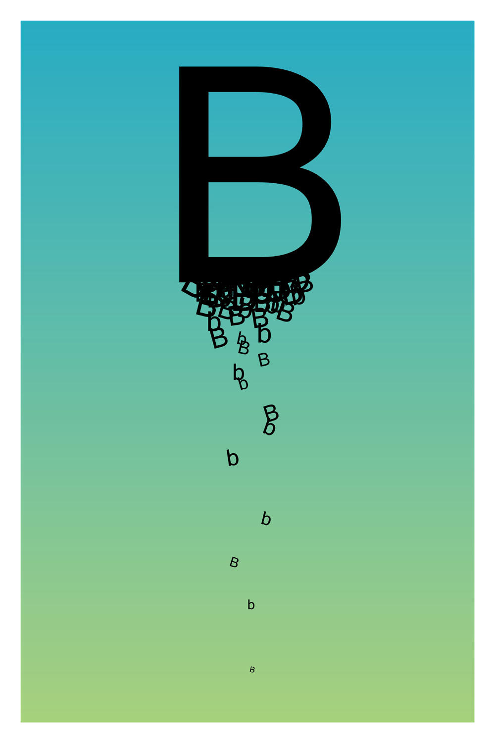 ... The Letter B. By Paperairplane