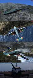 Rainbow Dash Mooney Bravo FSX Livery by BroniePologist