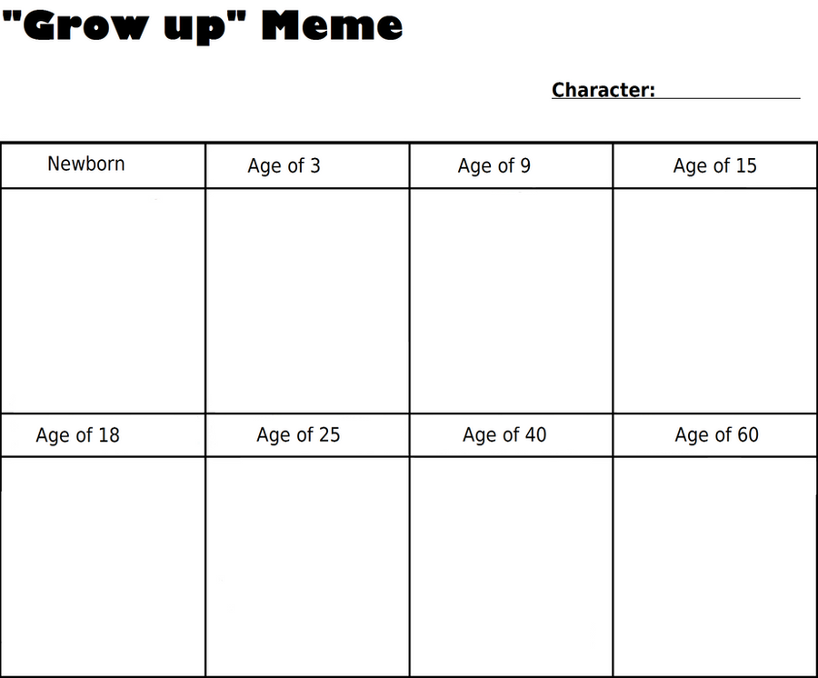 Grow up Meme by Soulrah