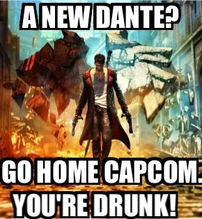 DmC Devil May Cry Dante by MariovsSonic2008