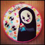 No Face Cupcake Hoop