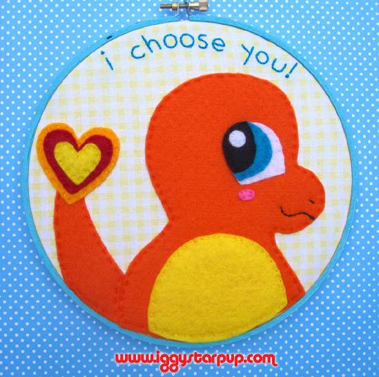 Charmander, I Choose You! by iggystarpup