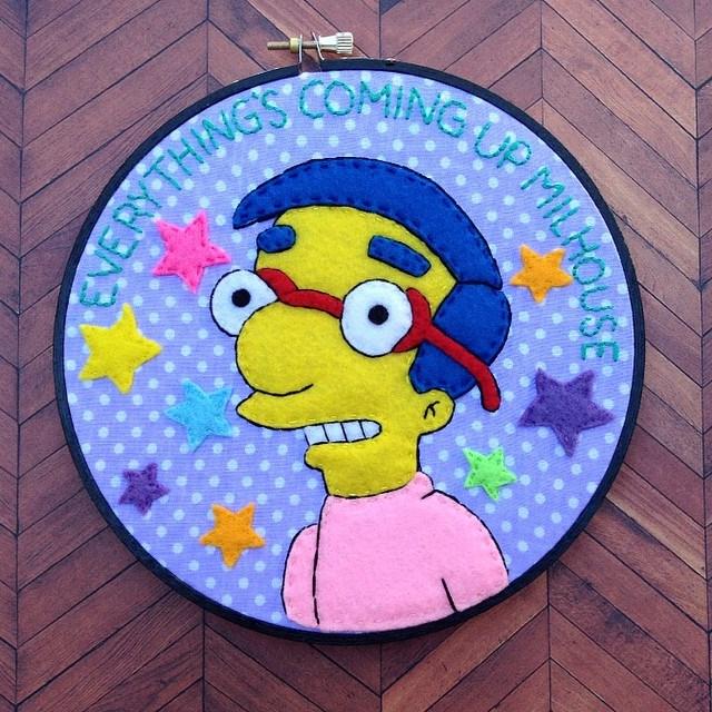 Milhouse Van Houten Hoop by iggystarpup