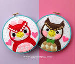 Animal Crossing Celeste and Blathers Hoops