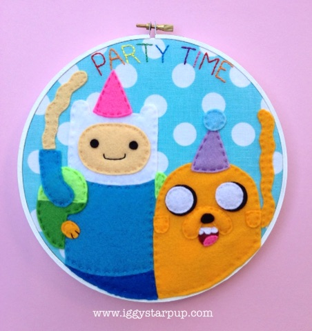 Adventure Time Finn and Jake Hoop by iggystarpup