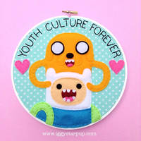 Adventure Time Youth Culture Forever