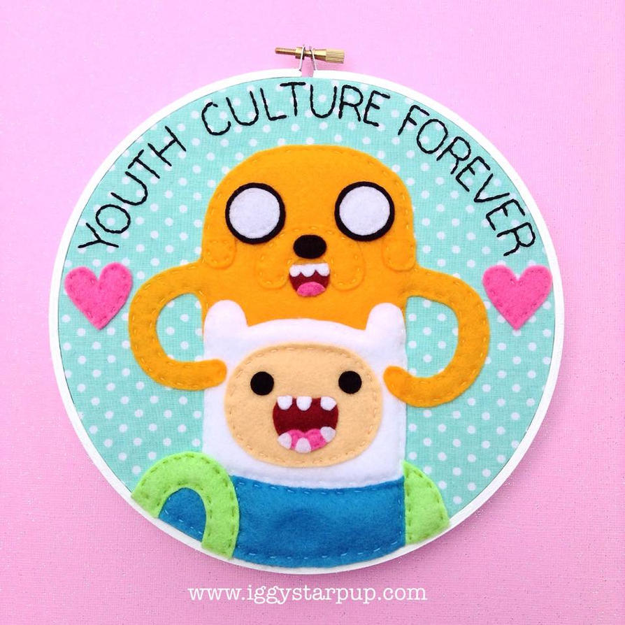 Adventure Time Youth Culture Forever by iggystarpup