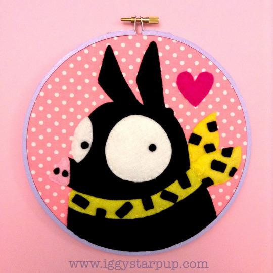 Ranma 1/2 P-chan Embroidery by iggystarpup