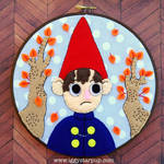 Over the Garden Wall Wirt Embroidery