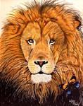 Lion Fire by Kstar2105