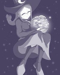 LWA The Omni Witch Ursula by THEDAIBIJIN