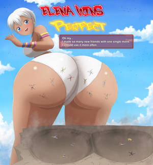 Street Fighter Elena's Friendly Smash