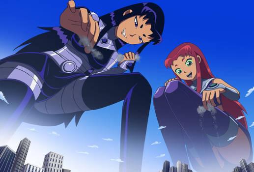Teen Titans Giga Tamaraneans