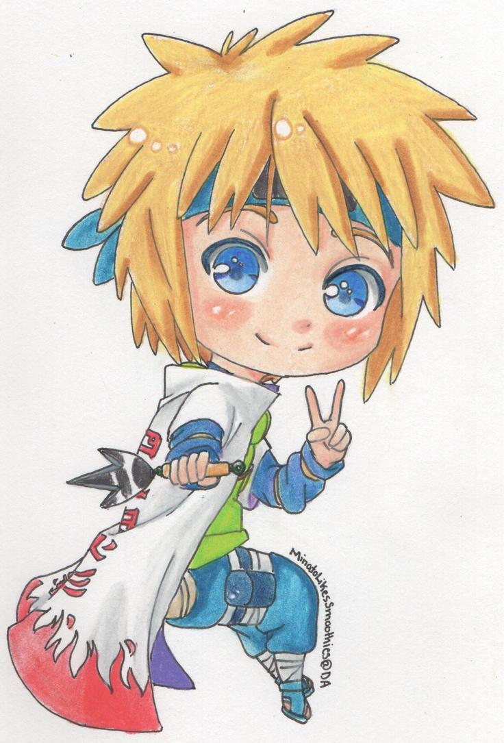 Chibi Minato The Yondaime Hokage By MinatoLikesSmoothies