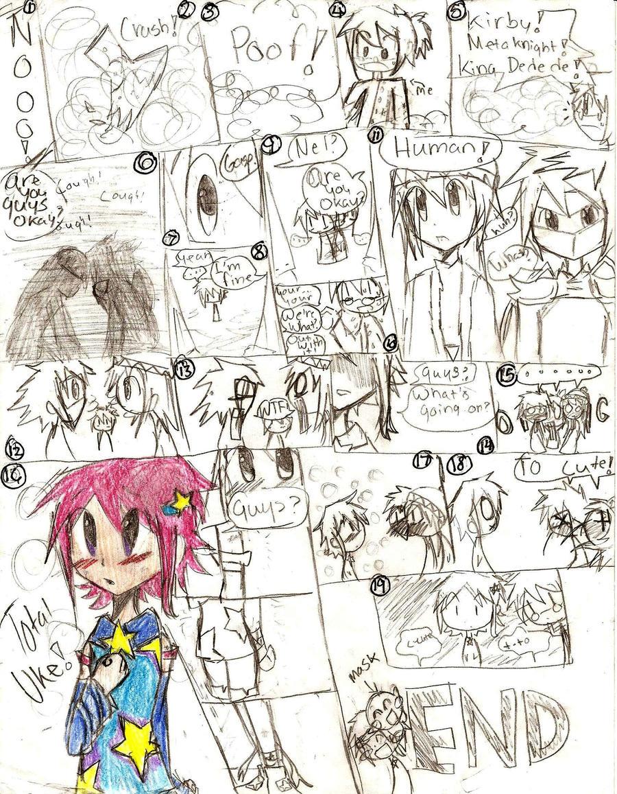 Human Uke Kirby Comic by BlueRoseFox on DeviantArt