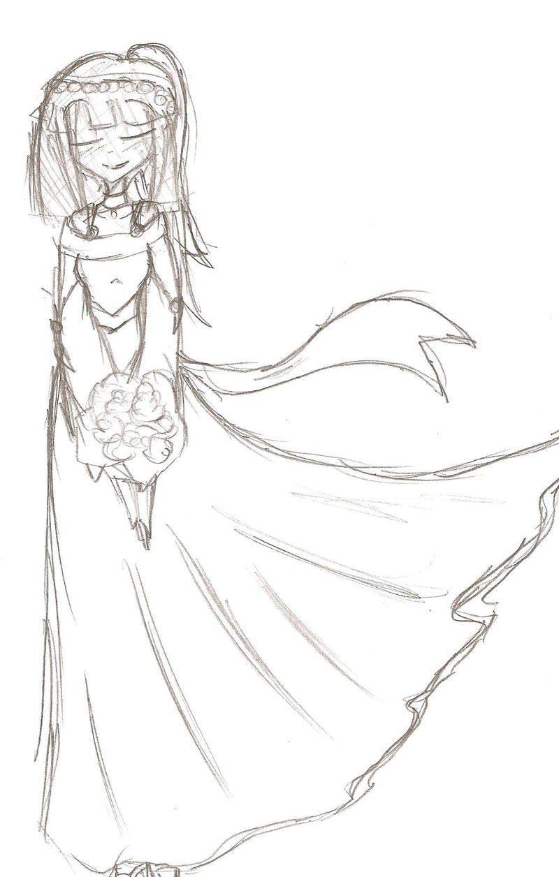 hinata u0027s wedding dress by bluerosefox on deviantart