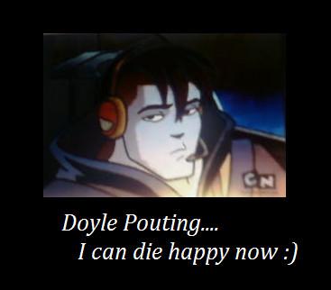 Doyle Pouting by BlueRoseFox
