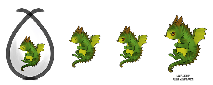 Baby Dragon Adopt - Thicket (OPEN)