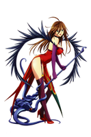 Nyx - Queen's Blade by borregoat7