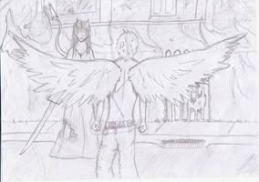 angel vs demon
