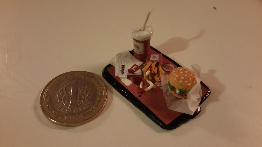 Miniature Burger King - YouTube