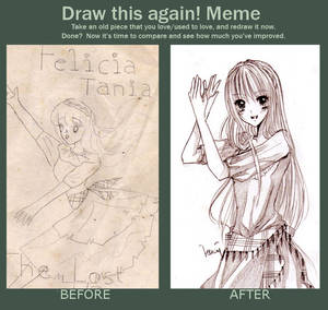 Before after meme: Traditional