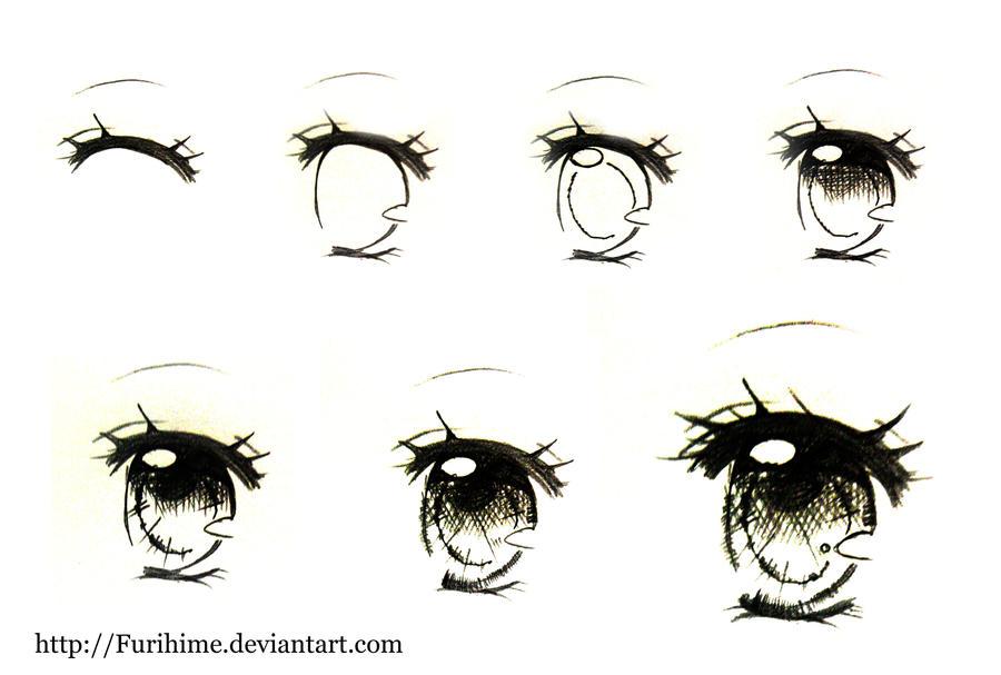 eye drawing step by step pdf