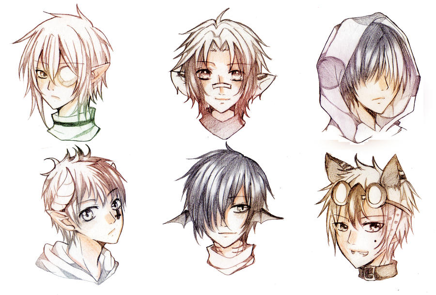 HS Sketch Commission batch - 2 by Furihime