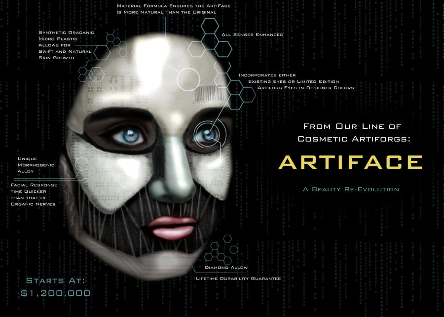 The ArtiFace by i-am-nimbus