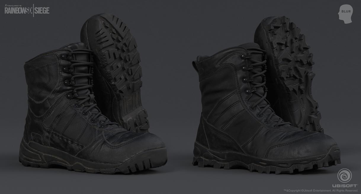 Rainbow Six Siege Cinematic SWAT - Boots 1 by mabdelfatah
