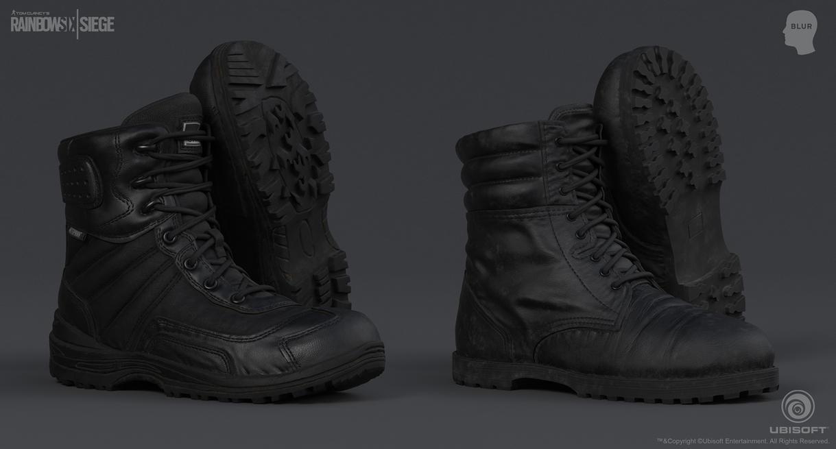 Rainbow Six Siege Cinematic SWAT - Boots 2 by mabdelfatah