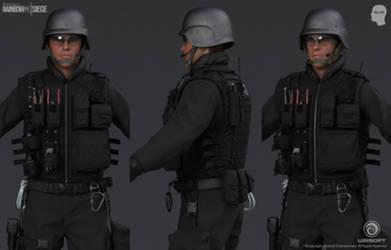 Rainbow Six Siege Cinematic SWAT - Close Ups by mabdelfatah
