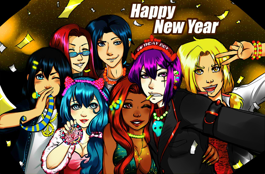 HAPPY 2015 by Jennycah