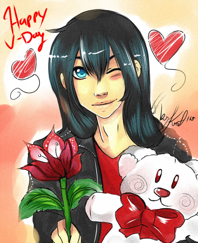 Jay V-day by Jennycah