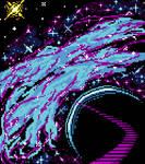 Pixeltober (2021) Day 6 - Space